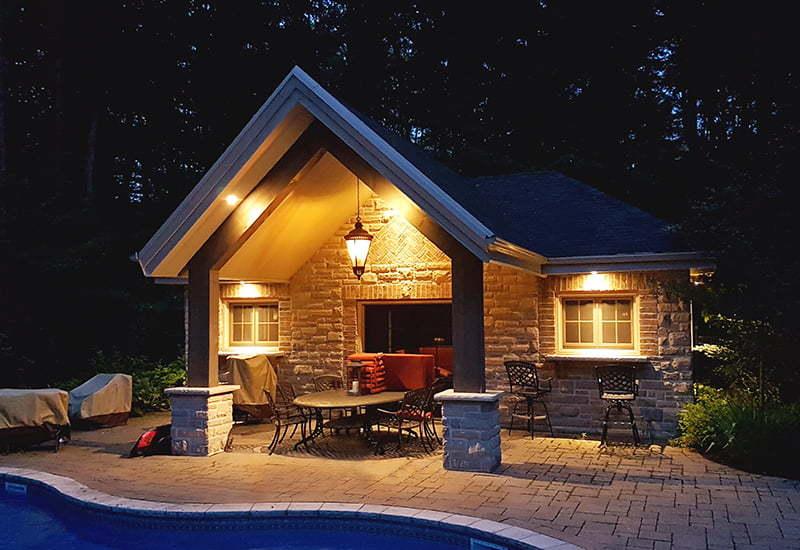 Pool House Custom Building