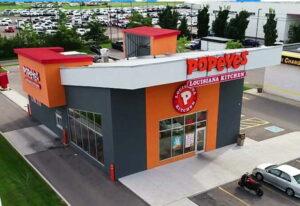 Popeyes Chicken Norsteel Buildings