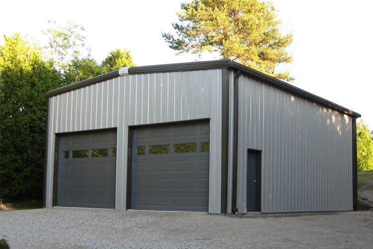 Rigid Frame Metal Building