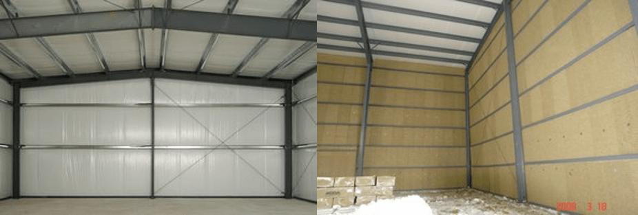steel building insulation